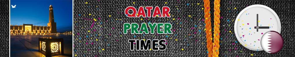 qatar prayer times